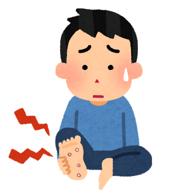 foot_sick_uonome_tako_man