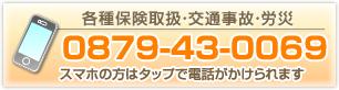 電話番号 0879-43-0069